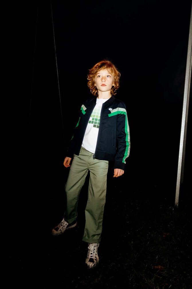 CKS KIDS - BERNIE - Lange broek - groen