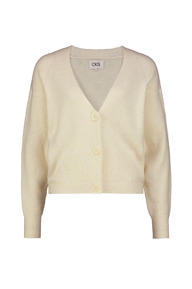 CKS WOMEN - KATOON - Cardigan - white