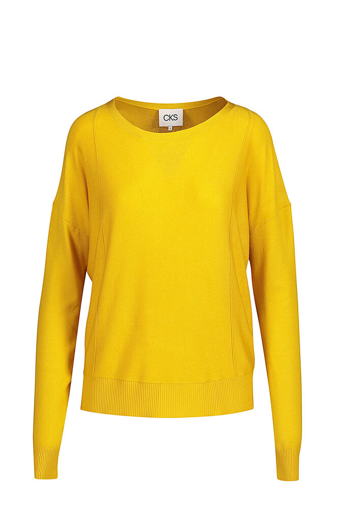 CKS WOMEN - KEENA - Pullover - Gelb