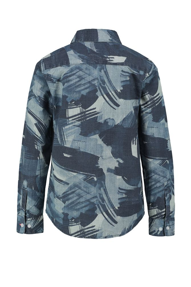 CKS KIDS - BRODAN - Shirt long sleeves - blue