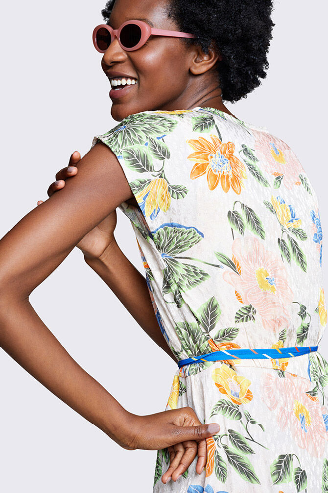CKS WOMEN - NAYABA - Dress long - multicolor