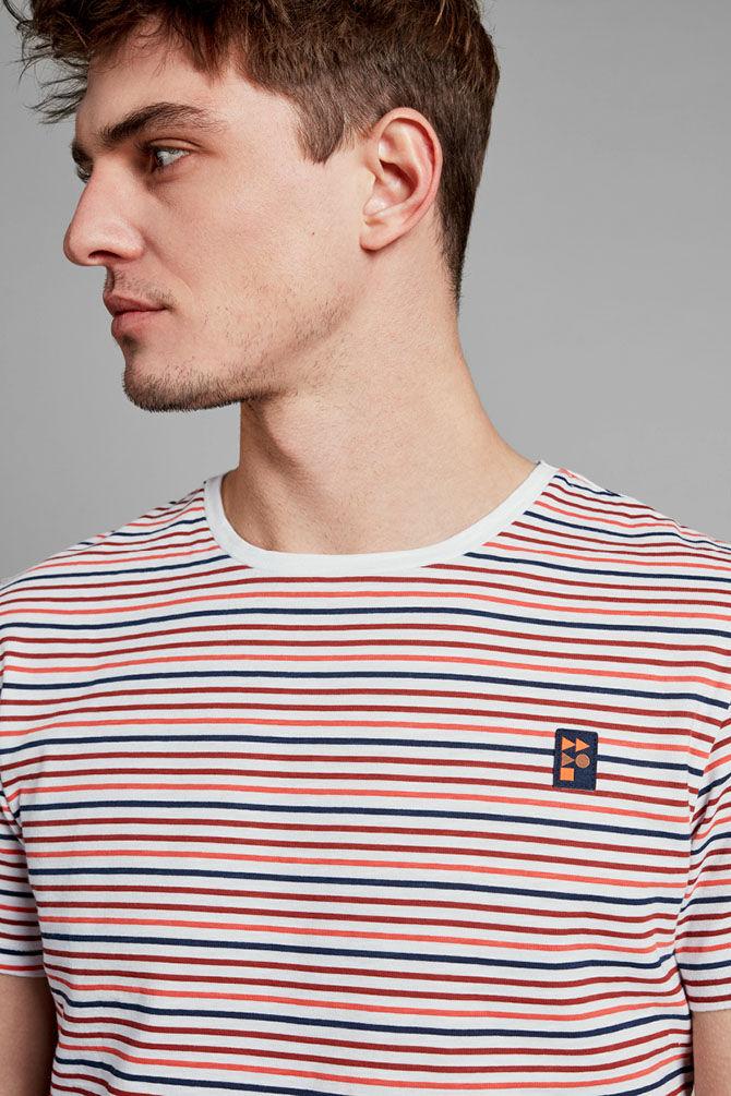 CKS MEN - NELODI - T-shirt korte mouwen - rood