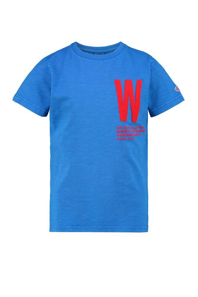 CKS KIDS - WARWICK - T-shirt korte mouwen - blauw