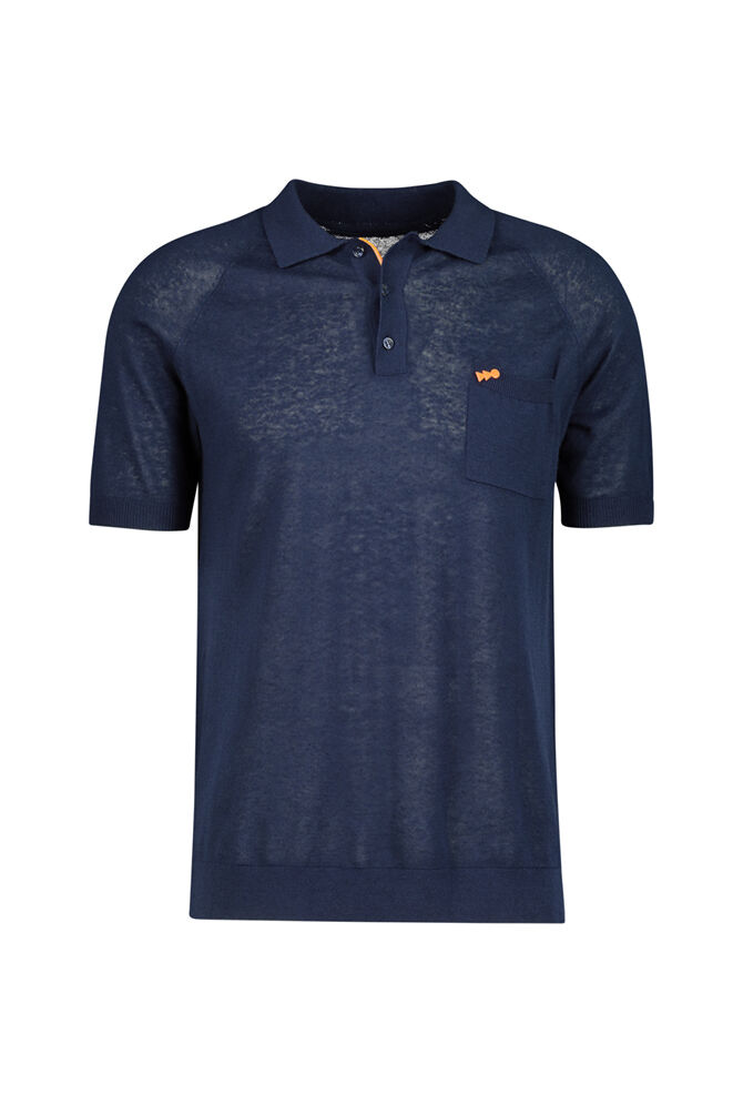 CKS MEN - NANTUCKER - Poloshirt - Blau