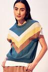 CKS WOMEN - KATRIEL - Pullover - bleu