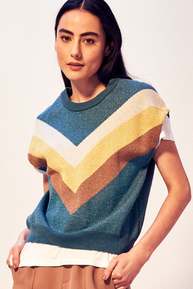 CKS WOMEN - KATRIEL - Pullover - Blau