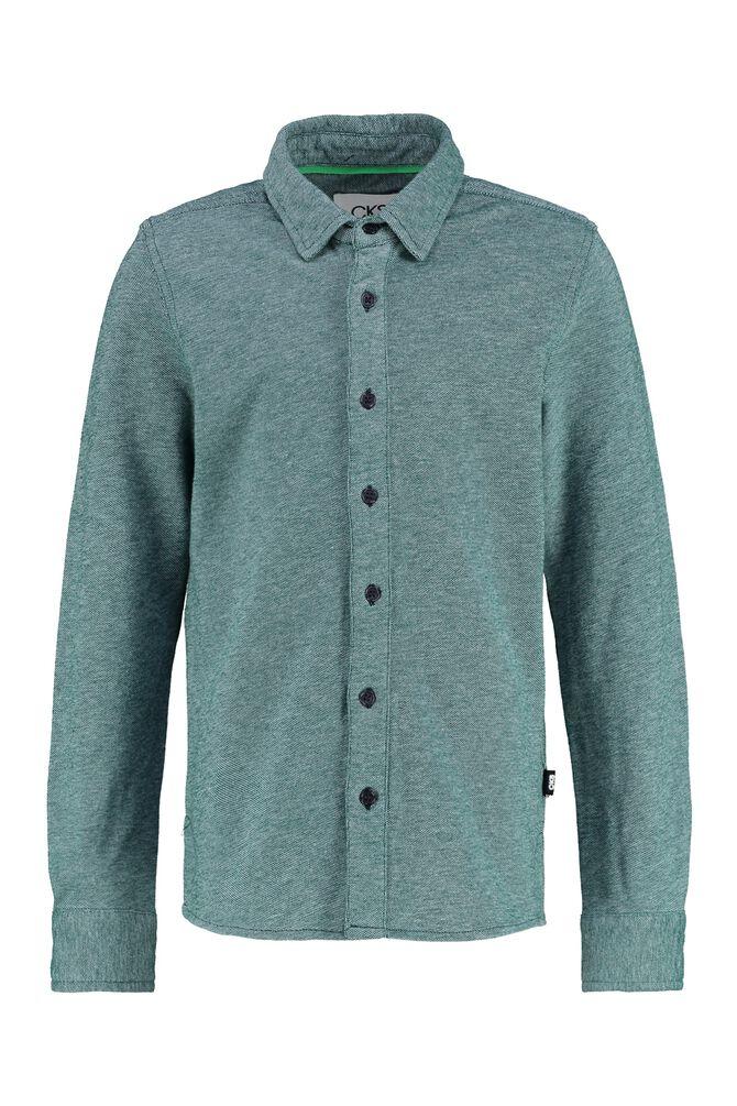 CKS KIDS - YORICK - Hemd lange mouwen - groen