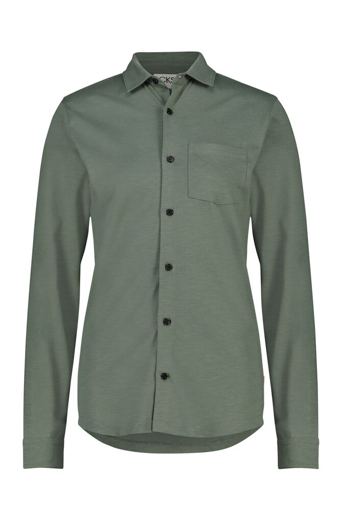 CKS MEN - NESHUD - Hemd lange mouwen - groen