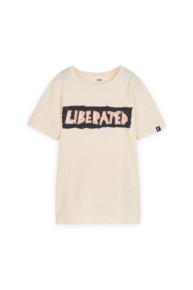 CKS KIDS - YEWIL - T-shirt korte mouwen - wit