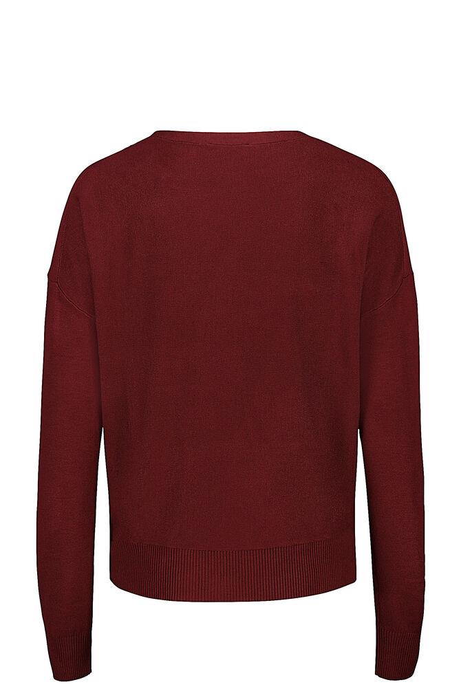 CKS WOMEN - KEENA - Pullover - bordeaux