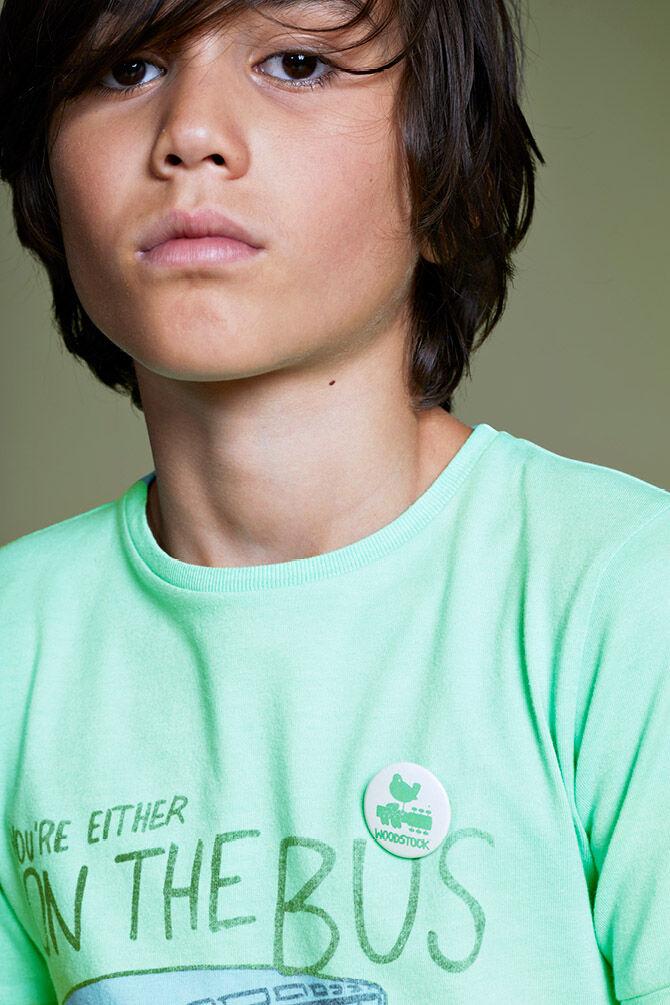 CKS KIDS - YUBEN - T-Shirt kurze Ärmel - Grün