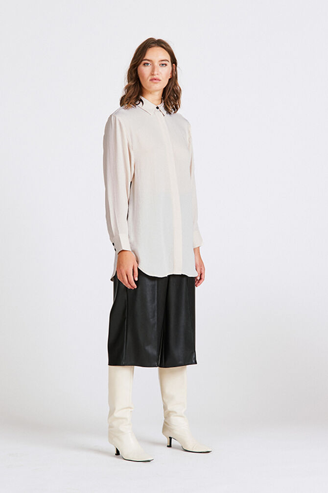 CKS WOMEN - RUTTEN - Blouse long sleeves - white