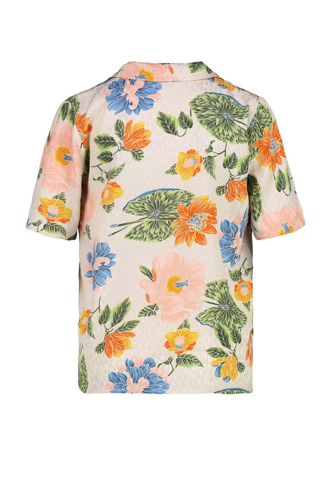 CKS WOMEN - LIKO - Blouse short sleeves - multicolor