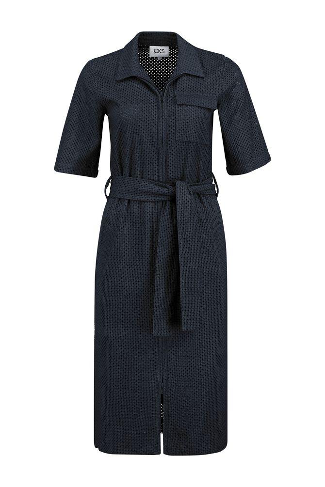 CKS WOMEN - FAFA - Lange jurk - blauw