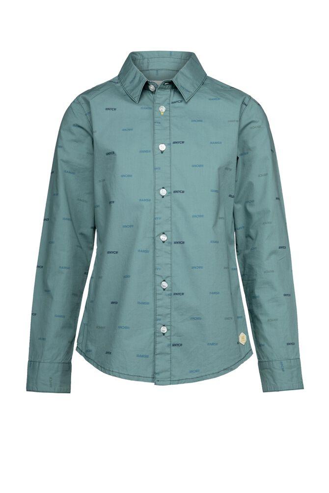 CKS KIDS - BOTAN - Hemd lange mouwen - groen
