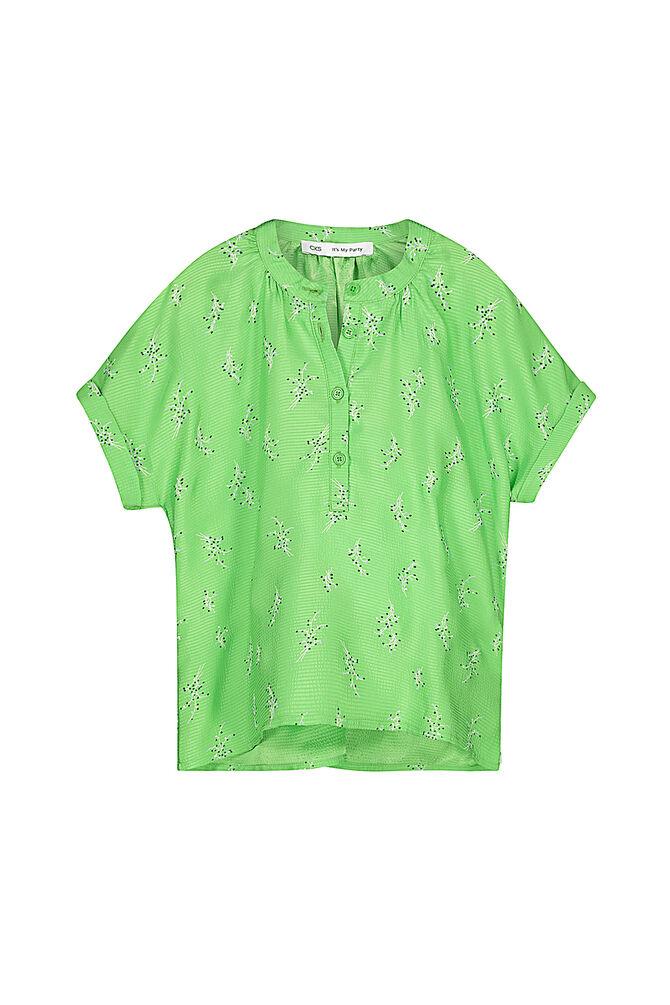CKS KIDS - EBOW - Blouse korte mouwen - groen