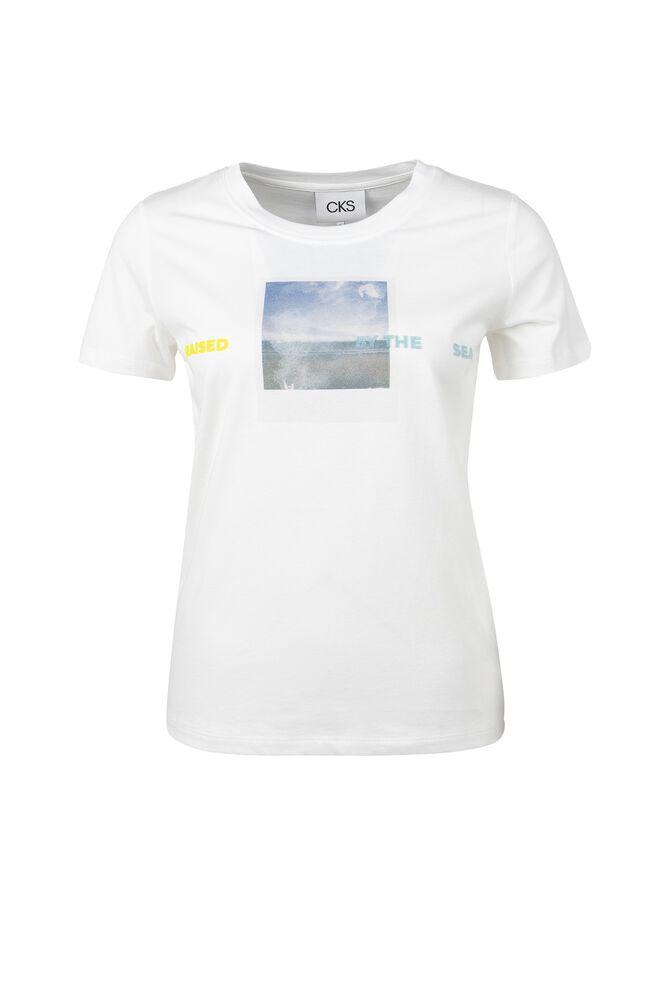 CKS WOMEN - LEIGH - T-Shirt kurze Ärmel - Weiß