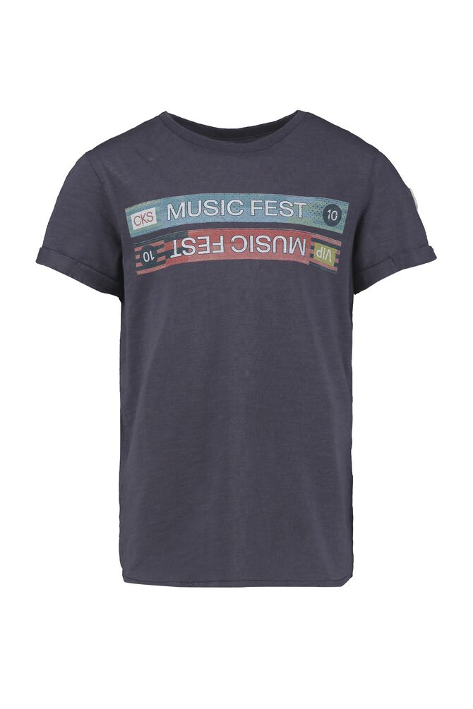 CKS KIDS - YULIAN - T-shirt korte mouwen - grijs