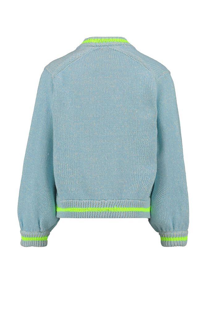 CKS KIDS - TWIGGY - Cardigan - blauw