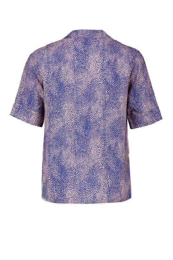 CKS WOMEN - LIKO - Blouse short sleeves - multicolor