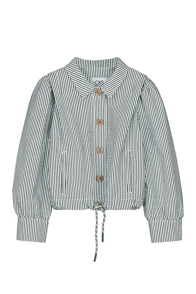CKS KIDS - ESTA - Korte jacket - wit