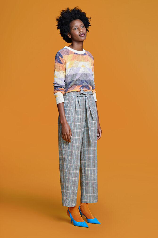 CKS WOMEN - LACEE - Pantalon long - multicolor