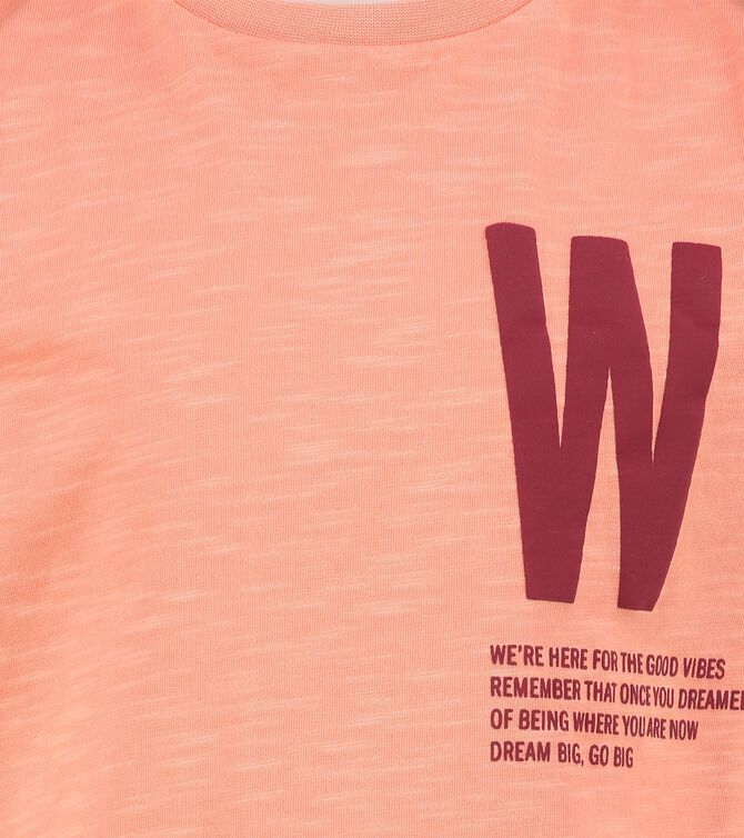 CKS KIDS - WARWICK - T-Shirt kurze Ärmel - Orange