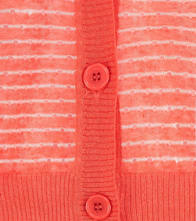 CKS WOMEN - TAVIAS - Strickjacke - Orange