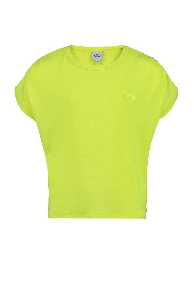 CKS KIDS - ISIS - T-Shirt kurze Ärmel - Gelb