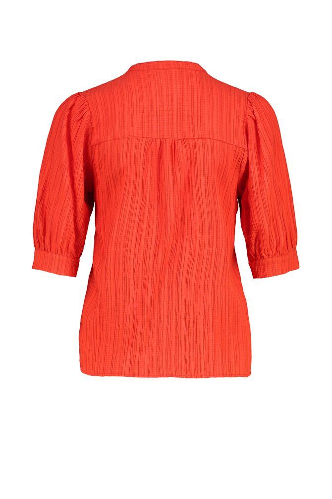 CKS WOMEN - ROSALINDA - Blouse korte mouwen - rood