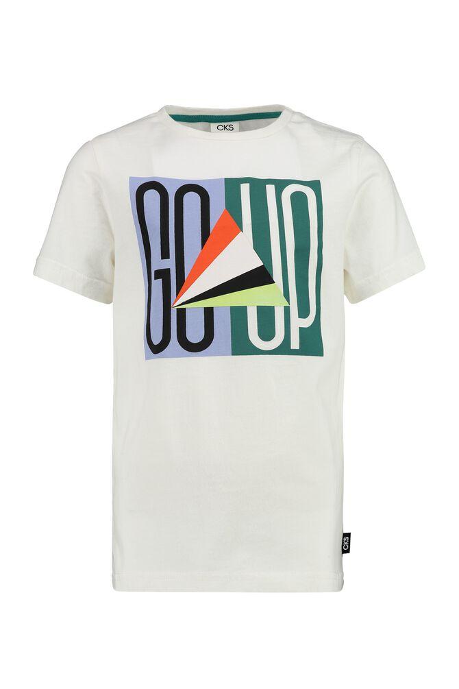CKS KIDS - YEHAN - T-shirt manches courtes - blanc