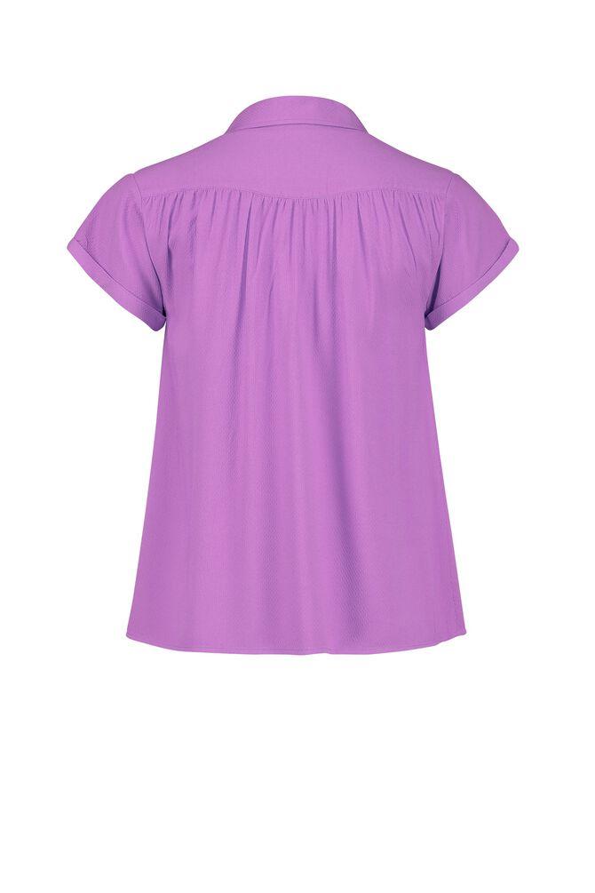 CKS WOMEN - LANDRY - Blouse korte mouwen - paars