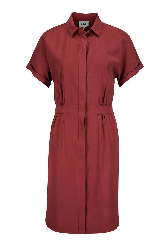 CKS WOMEN - RUTH - Korte jurk - rood