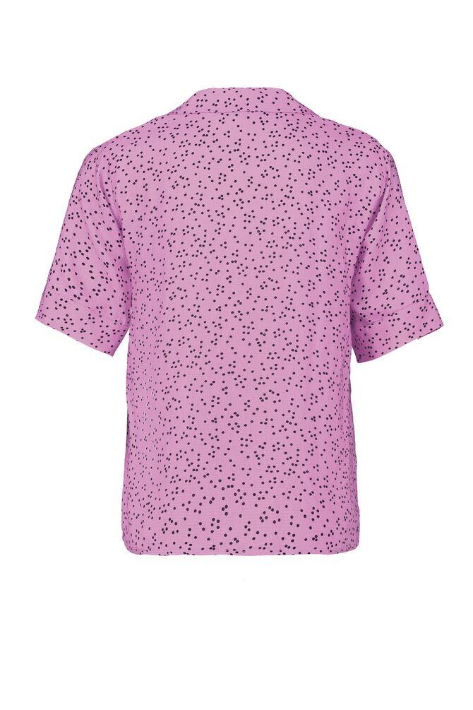 CKS WOMEN - LIKO - Blouse short sleeves - purple