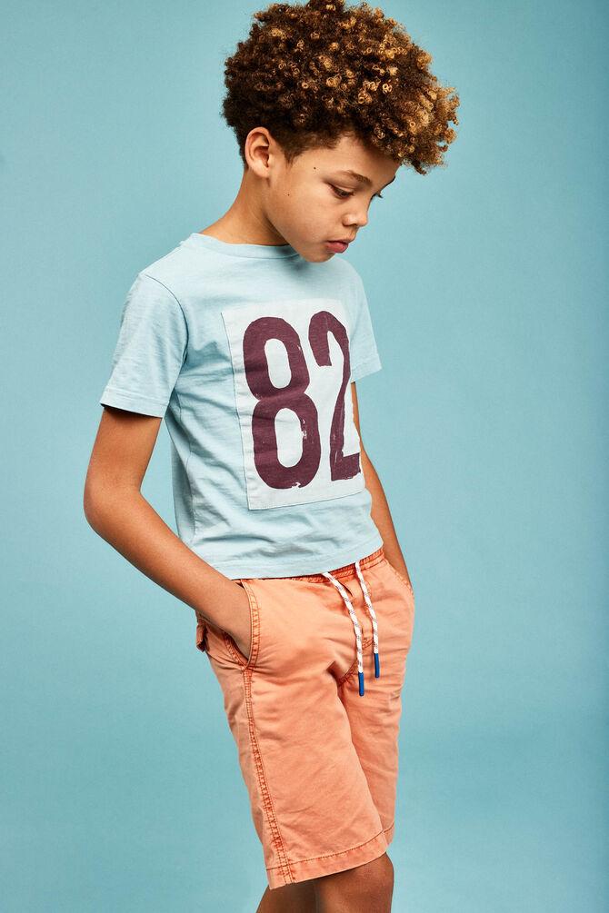 CKS KIDS - YURGEN - T-shirt korte mouwen - blauw