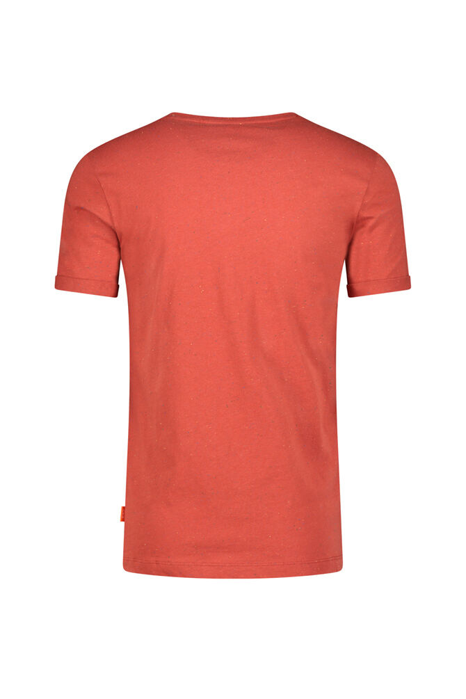 CKS MEN - NALDAR - T-Shirts manches courtes - rouge