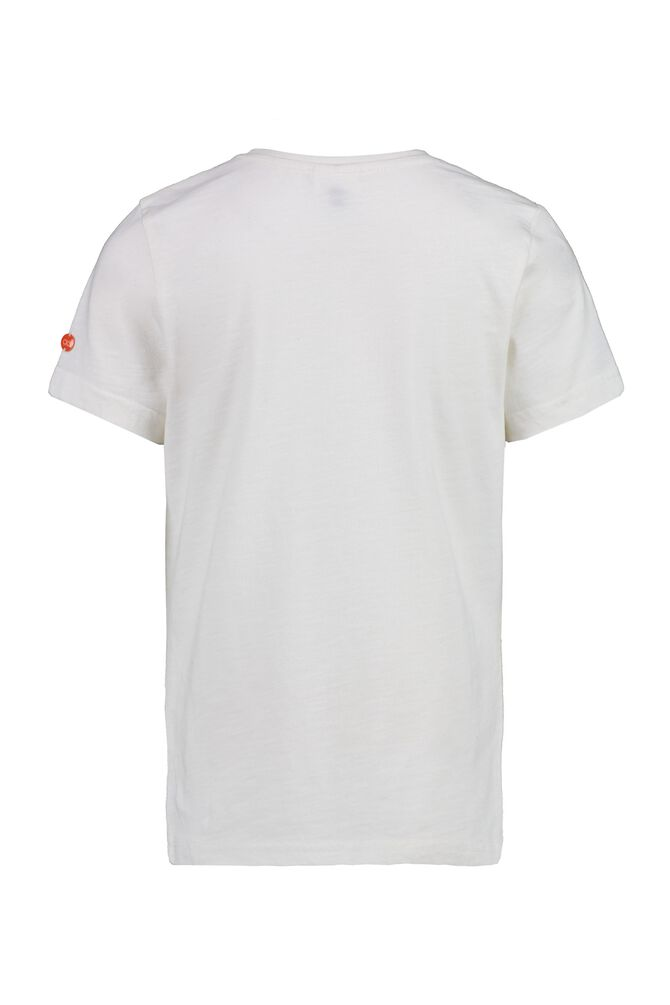 CKS KIDS - YATES - T-shirt manches courtes - blanc