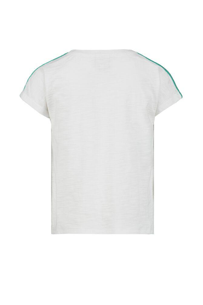CKS KIDS - ELBA - T-shirt korte mouwen - wit