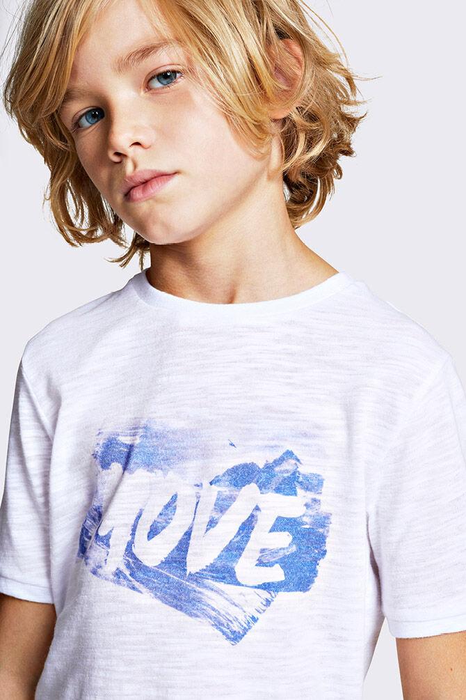 CKS KIDS - YASEM - T-shirt korte mouwen - wit