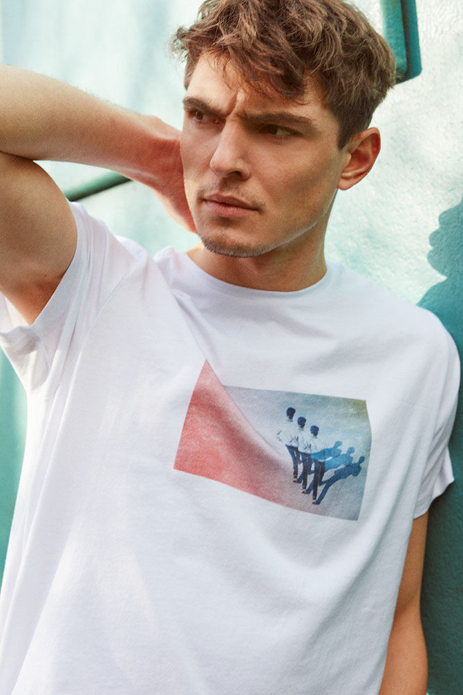 CKS MEN - NAOS - T-shirt short sleeves - white