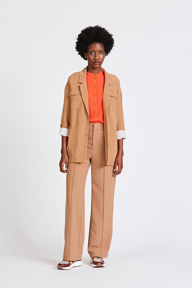 CKS WOMEN - TBILISIA - Pantalon long - beige