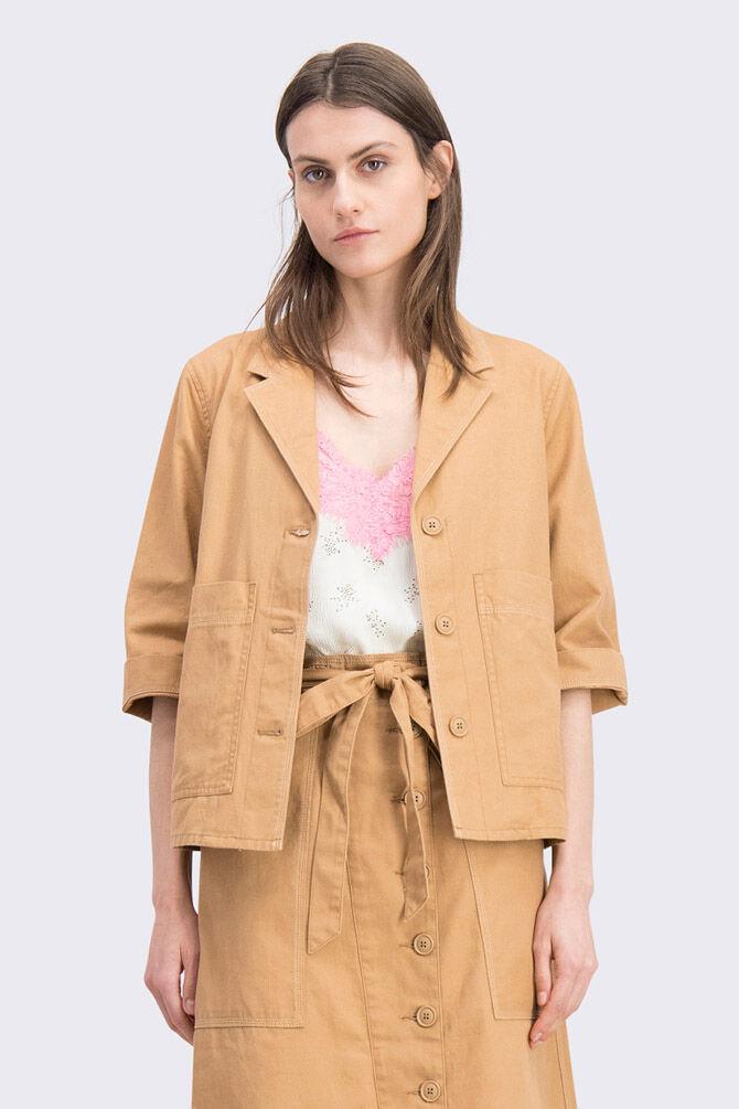 CKS WOMEN - FAY - Korte jacket - beige