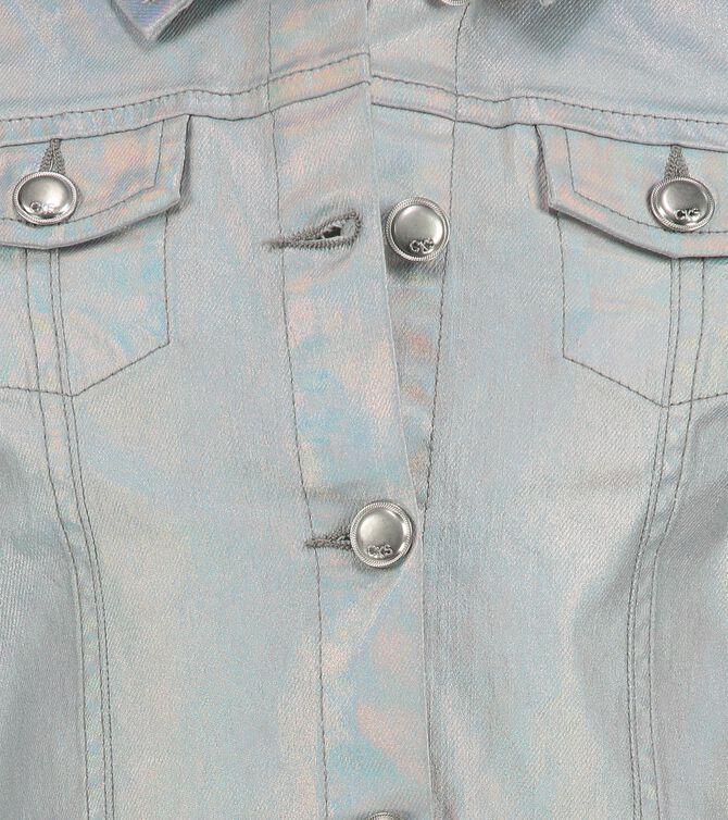CKS KIDS - GYVENCH - Short jacket - silver
