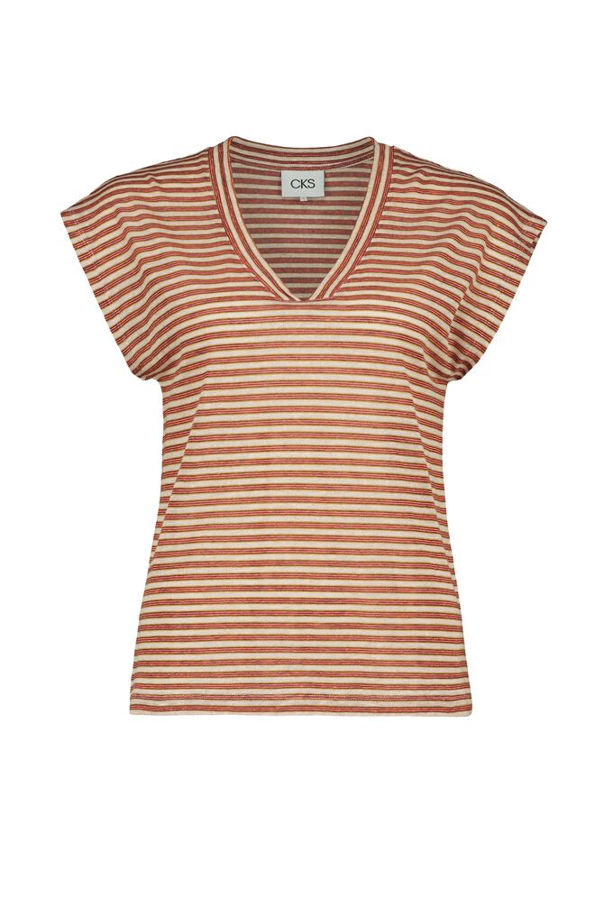 CKS WOMEN - JAMEE - T-shirt short sleeves - orange
