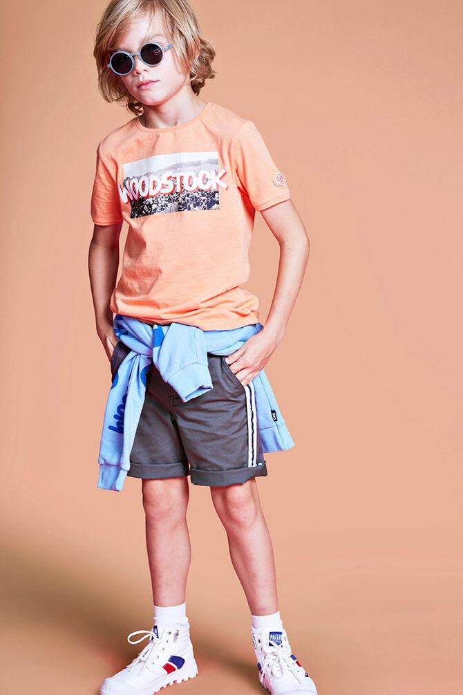 CKS KIDS - YUBERT - T-Shirt kurze Ärmel - Orange