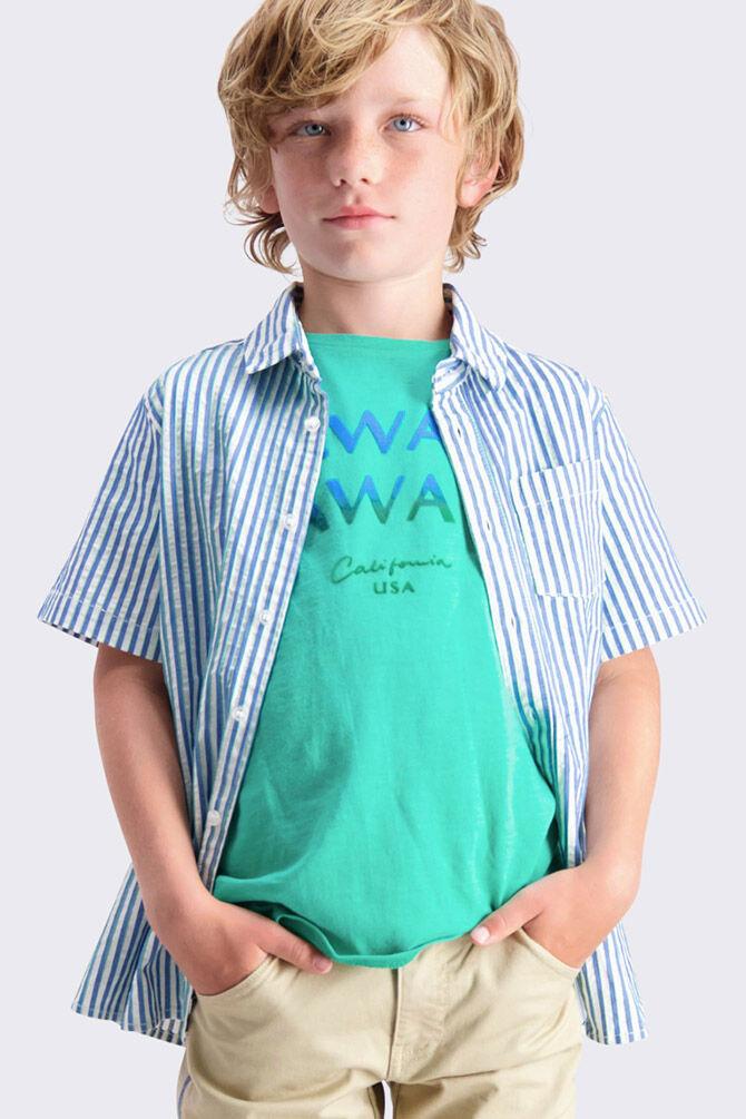 CKS KIDS - YEDDY - T-shirt korte mouwen - groen