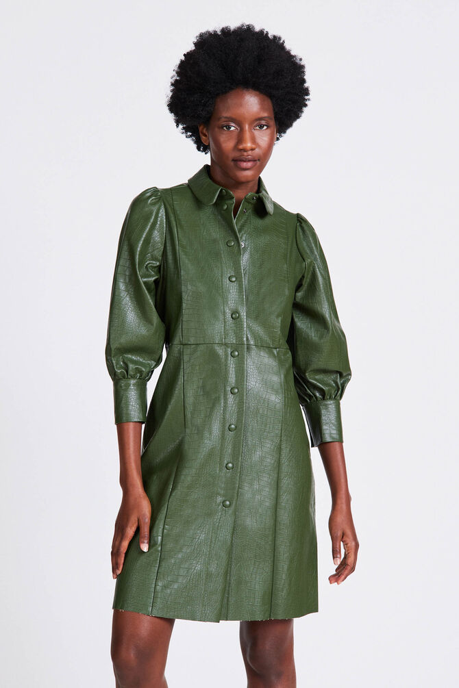 CKS WOMEN - ROBINETTA - Dress short - green