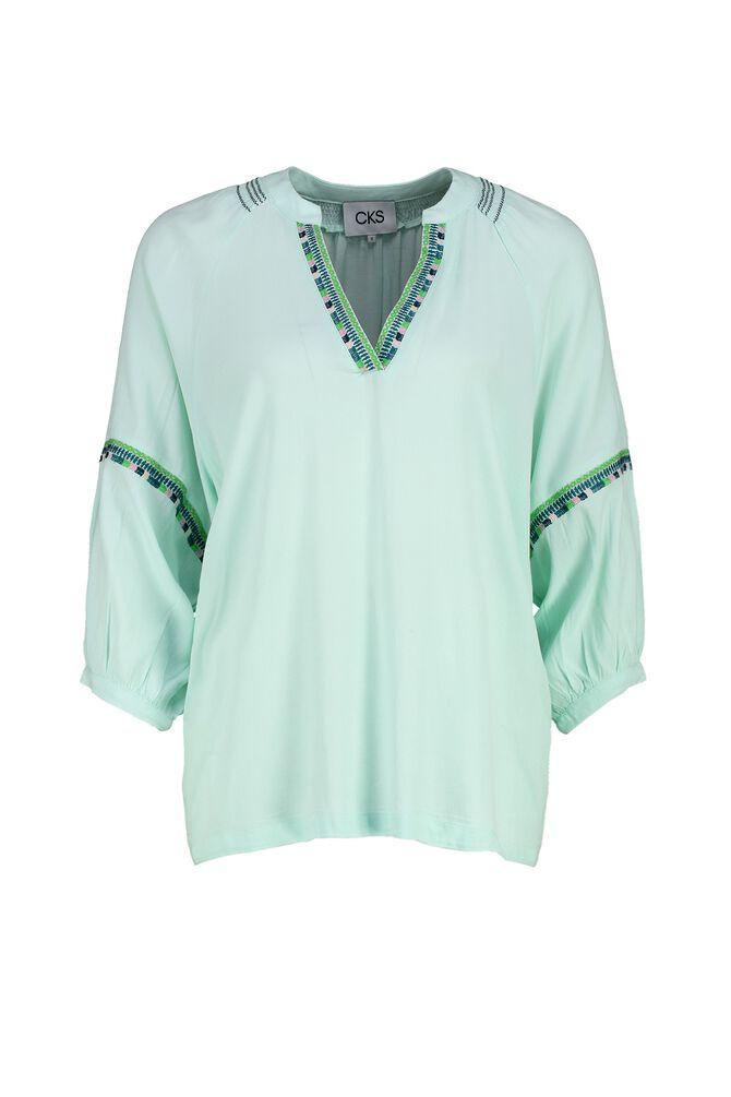 CKS WOMEN - RACK - Blouse long sleeves - green