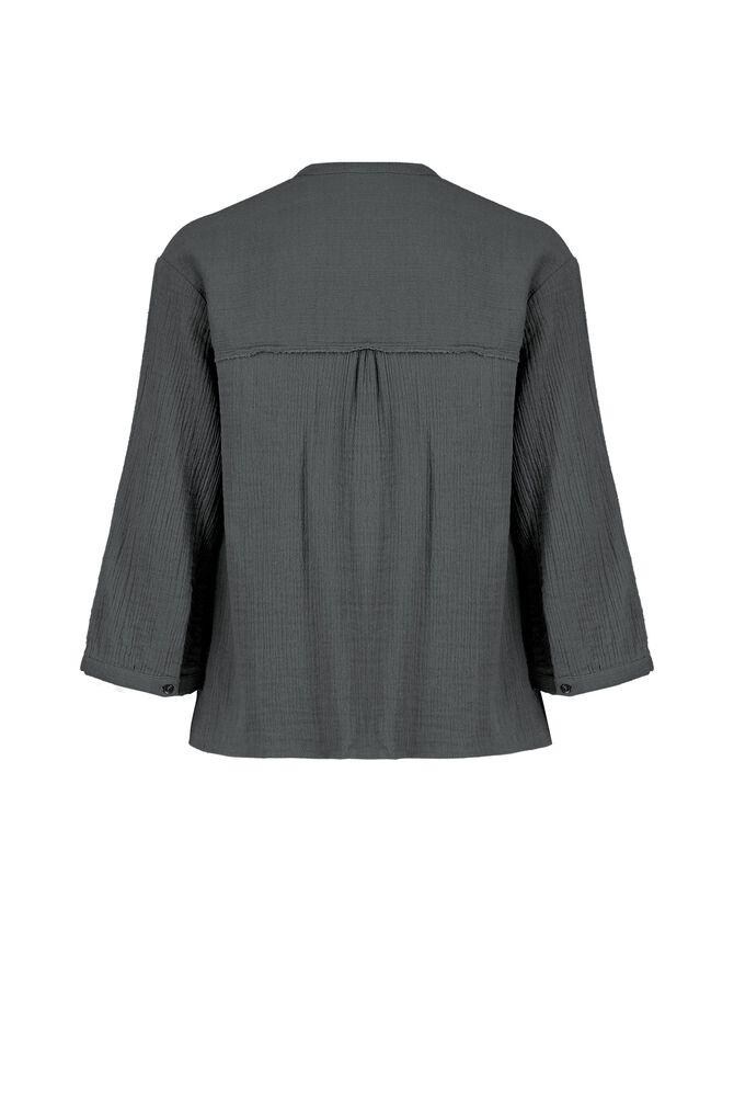 CKS WOMEN - LANE - Blouse lange mouwen - grijs