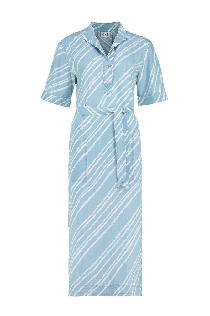 CKS WOMEN - FINNEAS - Dress long - blue